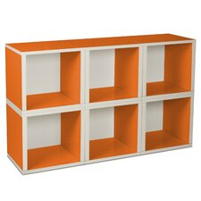 Eco-Friendly Modular Storage Cubes (Set of 6)