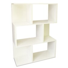 Eco-Friendly Madison Bookcase in White