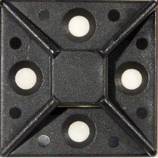 Large Self-Adhesive Tie Mounts in UV Black (Set of 100)
