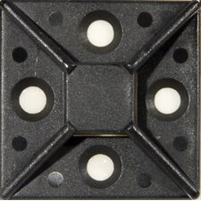 Large Self-Adhesive Tie Mounts in UV Black