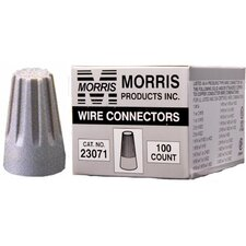Screw-On Wire P1 Connectors in Gray (Boxed 100 Pack)