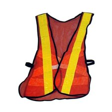 Reflective Vest in Orange