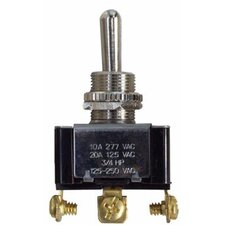 Heavy Duty Momentary SPDT On-Off-(On) Toggle Switch