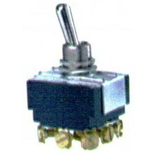 Heavy Duty 3PDT On-On Toggle Switch