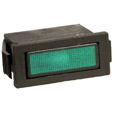 Rectangular Indicator Pilot Lamp in Green