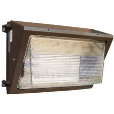 Quad 100W Medium Wall Pack in Bronze
