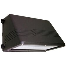 Quad 250W HPS Dark Sky Large Wall Pack in Bronze