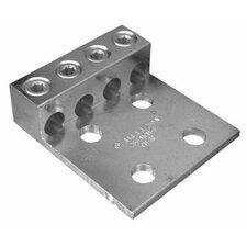 Four Hole Aluminum Mechanical Lugs Four Conductors with Mount 250MCM