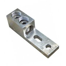 Aluminum Mechanical Lugs 1 Conductor and Two Hole Mount 600MCM