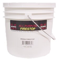 1 Gallon Pail Fire Stop Caulking Compound in Red