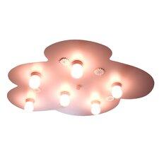 Marguerite 6 Light Flush Light