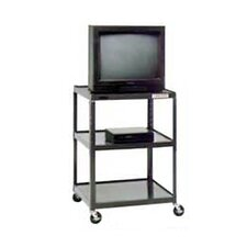"<strong>Da-Lite</strong> Pixmate 25"" x 30"" Shelf Television Cart [25.5"", 34"", 42"", 48"", 54"" Heights]"