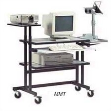 MMT - Multi-Media 33.5'' W x 19.75'' D Computer Table