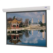 Designer Contour Electrol Matte White Motorized Electric Projection Screen