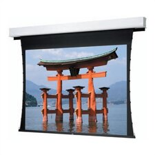 Tensioned Advantage Deluxe Electrol Motorized Front High Contrast Da-Mat Electric Projection Screen
