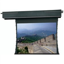 "Tensioned Executive Electrol Pearlescent Motorized 54"" x 96"" Electric Projection Screen"
