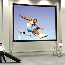Fast Fold Deluxe Da-Mat Portable Projection Screen