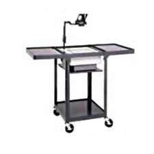 Pixmate Height Adjustable Shelf Cart with Projector Well