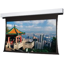 "Tensioned Advantage Deluxe Electrol High Contrast Audio Vision 123"" Electric Projection Screen"