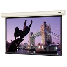 "Cosmopolitan Electrol High Contrast Matte White 180"" Electric Projection Screen"