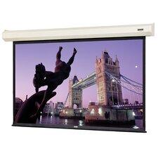 """Cosmopolitan Electrol Matte White 72"""" Electric Projection Screen"""