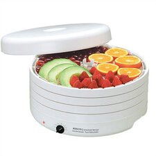 Garden Master Food Dehydrator w / Set of 4 Optional Trays & Clean-A-Screen