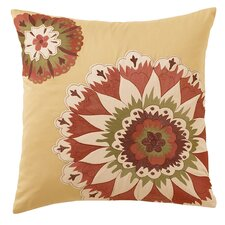 Grand Bazaar Square Embroidered Accent Pillow