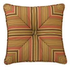 Grand Bazaar Square Striped Accent Pillow