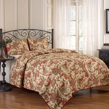 <strong>Waverly</strong> Rustic Retreat 3 Piece Quilt Set