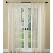 Breeze Rod Pocket Curtain Single Panel