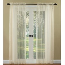 Boucle Rod Pocket Curtain Single Panel