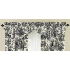 """Country Life 52"""" Curtain Valance"""