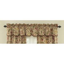 Imperial Dress Cotton Rod Pocket Scalloped Valance