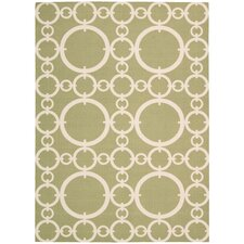 Sun N' Shade Citrine Outdoor Rug