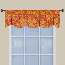 Archival Urn Cotton Curtain Valance