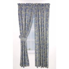 <strong>Waverly</strong> Rustic Life Cotton Rod Pocket Curtain Single Panel