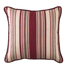Ballad Bouquet Striped Accent Pillow