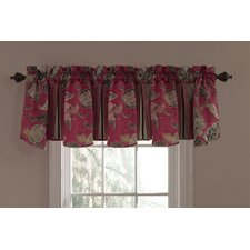 Eastern Myth Cotton Ruffed Curtain Valance