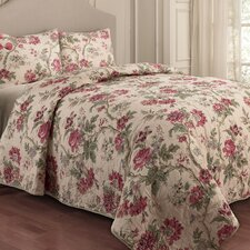 <strong>Waverly</strong> May Medley 3 Piece Quilt Set