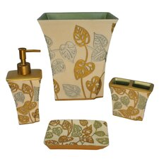 Paradisio 4 Piece Bathroom Accessory Set