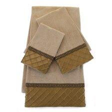 Royal 3 Piece Decorative Towel Set