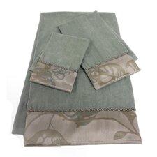 Paradisio Decorative 3 Piece Towel Set