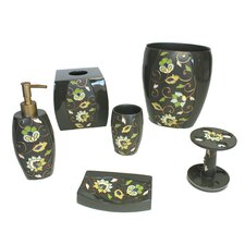 Jacquelyn 6 Piece Bathroom Accessory Set
