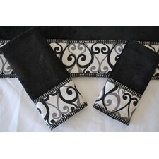 Abingdon Decorative 3 Piece Towel Set