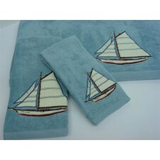 Fair Harbor Decorative 3 Piece Towel Set