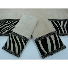 Zuma Decorative 3 Piece Towel Set