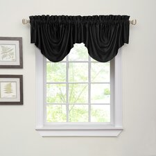 Ella Rod Pocket Scalloped Curtain Valance