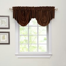 "Ella Rod Pocket Scalloped 52"" Curtain Valance"