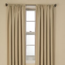 Kendall Rod Pocket Window Curtain Single Panel