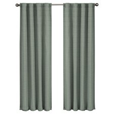 Twist Rod Pocket Window Curtain Panel